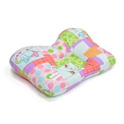 Внешний вид ортопедической подушки для новорожденных ТОП-110
