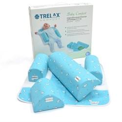Детская ортопедическая подушка-конструктор TRELAX Baby Comfort П10 с упаковкой