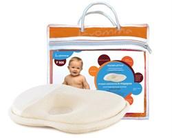 Подушка с эффектом памяти для детей от рождения до года LumF-505 с упаковкой