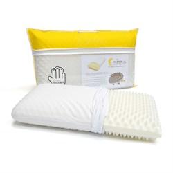 Подушка с памятью формы и массажным эффектом Memory Foam Erizo - фото 5276